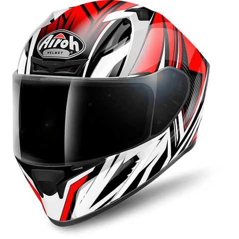 Casco AIROH VALOR CONQUER RED GLOSS