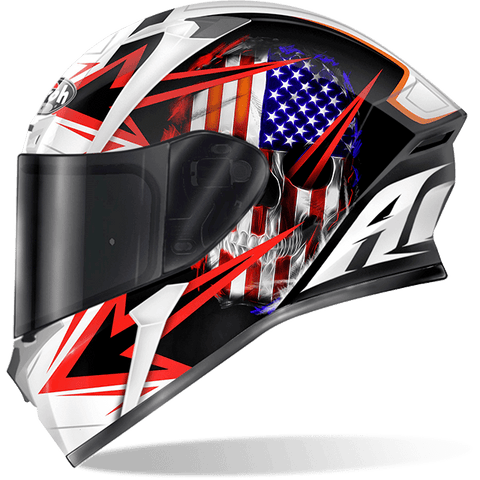 Casco AIROH VALOR SAM BLACK GLOSS