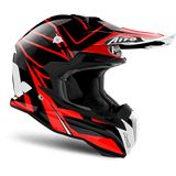 Casco AIROH Terminator Open Vision Shock Red Gloss