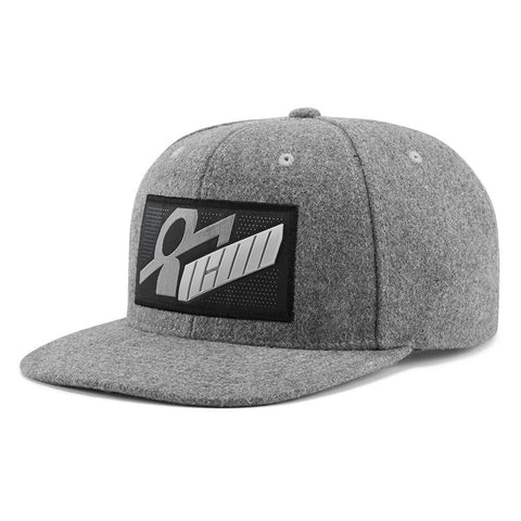 Gorra ICON SIQ WHOOLY HAT GREY