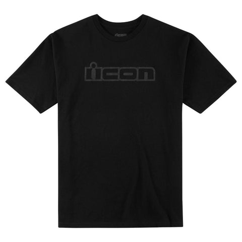 Camiseta ICON OG T-SHIRT BLACK