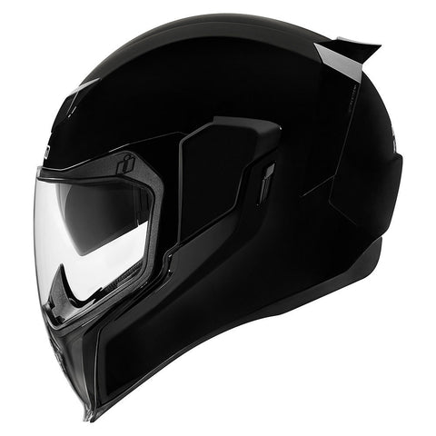 Casco ICON AIRFLITE GLOSS SOLIDS  HELMET BLACK