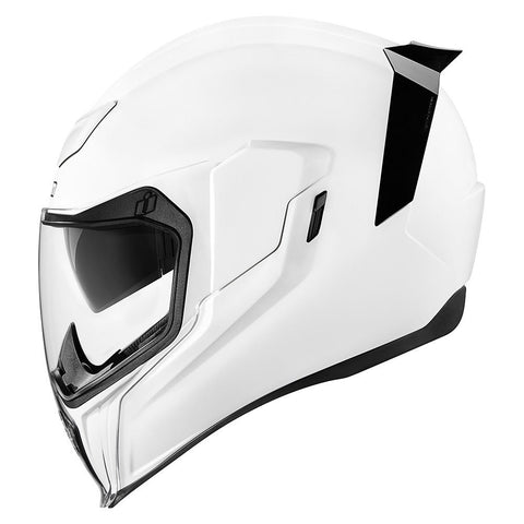 Casco ICON AIRFLITE GLOSS SOLIDS  HELMET WHITE