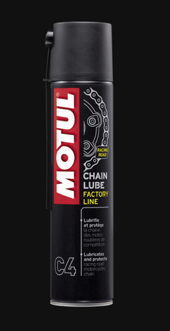 Motul MC CARE ™ C4 Chain Lube Factory Line 400ml - Cruce de Válvulas