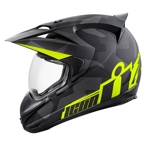 Casco ICON VARIANT  DEPLOYED HELMET MATTE BLACK/GRAY