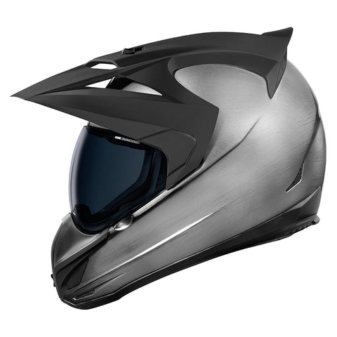 Casco ICON VARIANT QUICKSILVER HELMET SILVER/BLACK