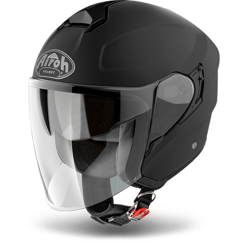 Casco AIROH URBAN JET Hunter Color Black Matt