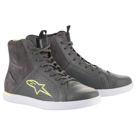 Alpinestars JAM AIR ROAD RIDING SHOES ANTHRACITE/GREEN