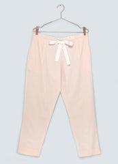 Dusk Organic Cotton Trousers - Blush, Hand dyed, ethical fashion