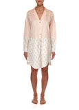 Dusk Shirt Dress - Blush