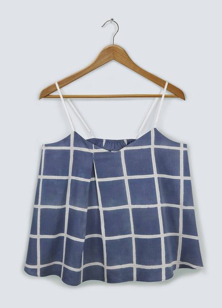 Navy Square Camisole