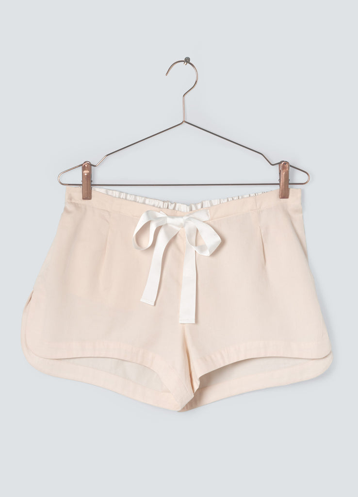 Dusk Cotton Shorts - Blush