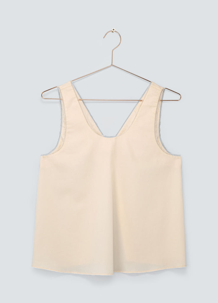 Dusk Open Back Tank Top - Blush