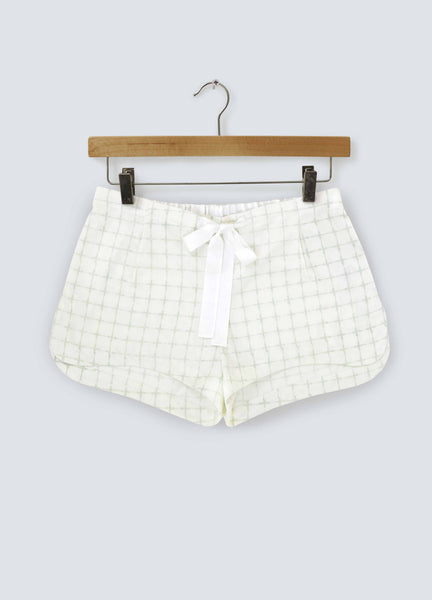 Noughts & Crosses Cotton Shorts - Pastel Cross