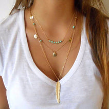 Limited Feather Necklace