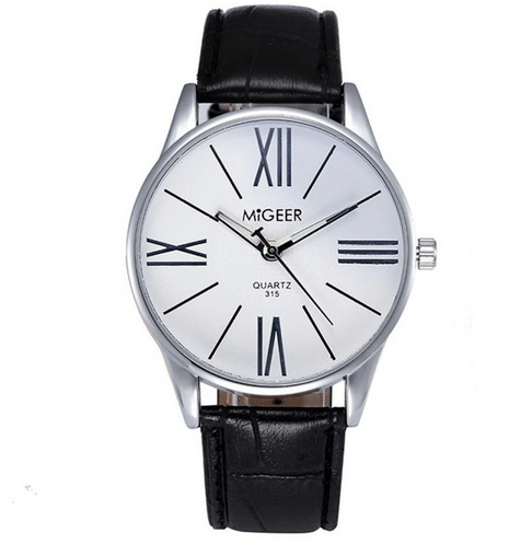 Exclusive Roman Numerals Quartz Wrist