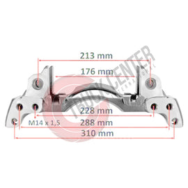 TCW.175.859 Caliper Carrier - Left