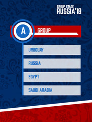 Russia World Cup 2018 - Group A