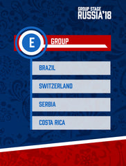 Russia World Cup 2018 - Group E