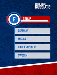 Russia World Cup 2018 - Group F
