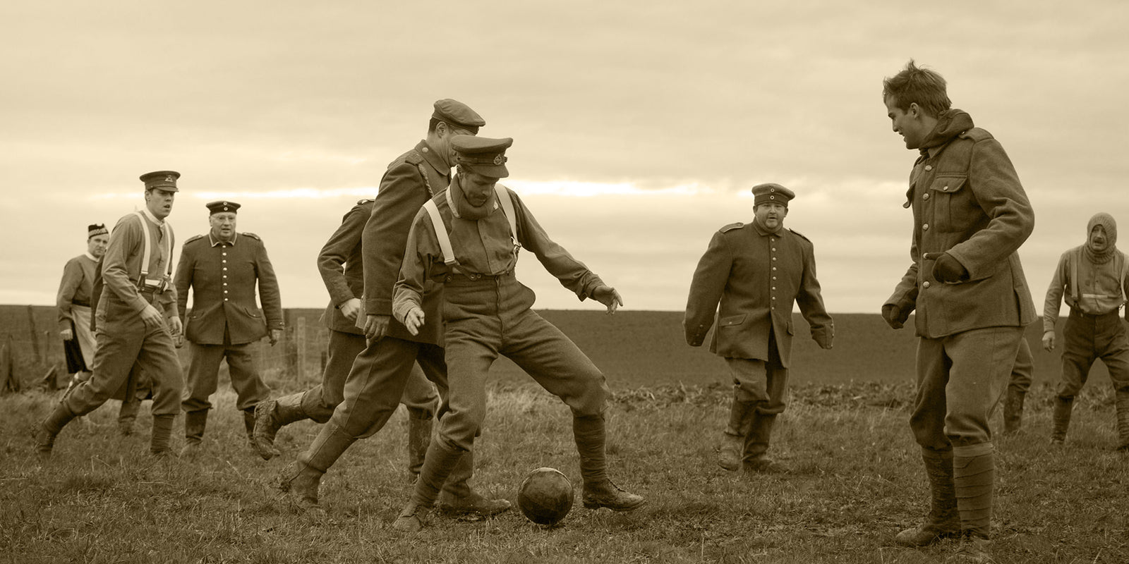 Boxing Day - War Football Match