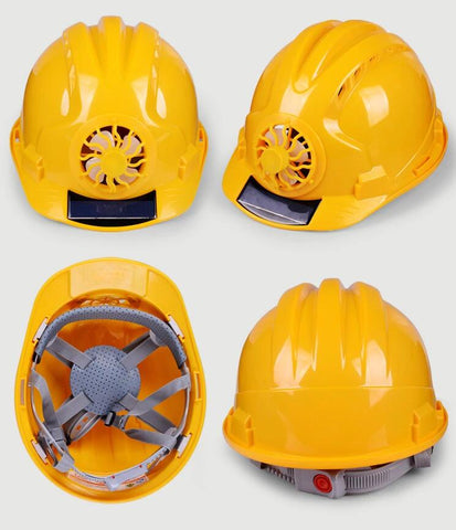 Solar Powered Safety Helmet