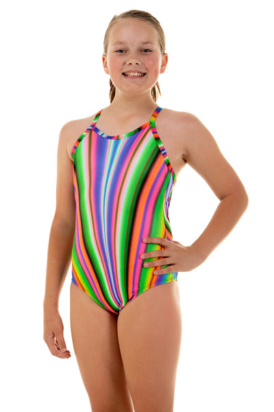 Nova Swimwear Girls Allsorts Sportique One Piece - FreeStyle Swimwear