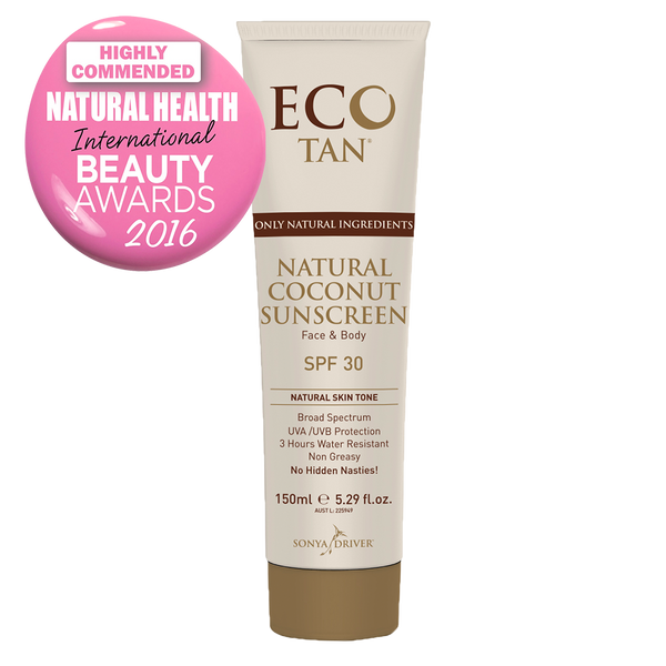 Eco Tan Natural Coconut Sunscreen - FreeStyle Swimwear