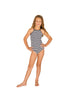 Baku Girls Capri High Neck One Piece - FreeStyle Swimwear
