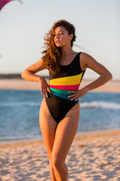Sunhaze Horizon High Cut One Piece - FreeStyle Swimwear
