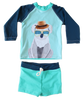 Young Squad Baby Boy Koala Swim Set - FreeStyle Swimwear