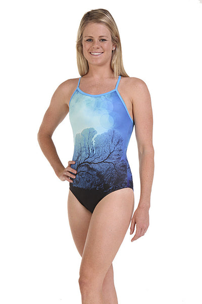 Nova Swimwear Ladies Undersea One Piece - FreeStyle Swimwear