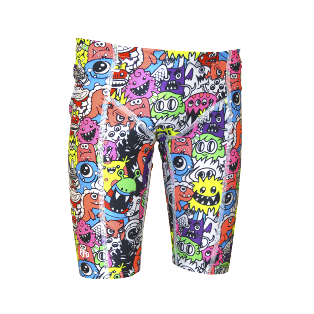 Fashion Fish Boys Monster Jam Knicks - FreeStyle Swimwear