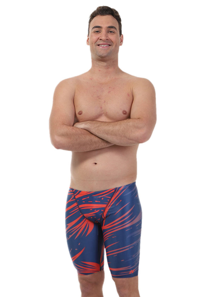 Nova Swimwear Mens Scratches Jammer - FreeStyle Swimwear