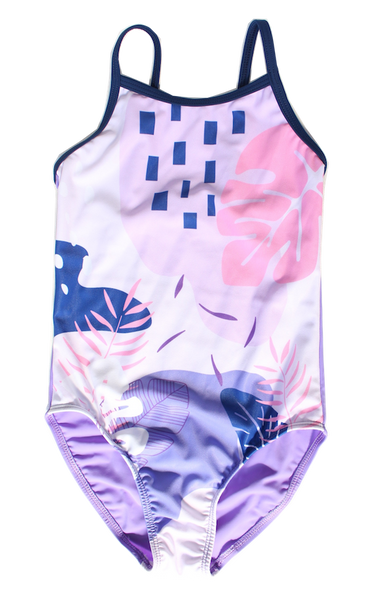 Young Squad - Girls Tropical One Piece - FreeStyle Swimwear