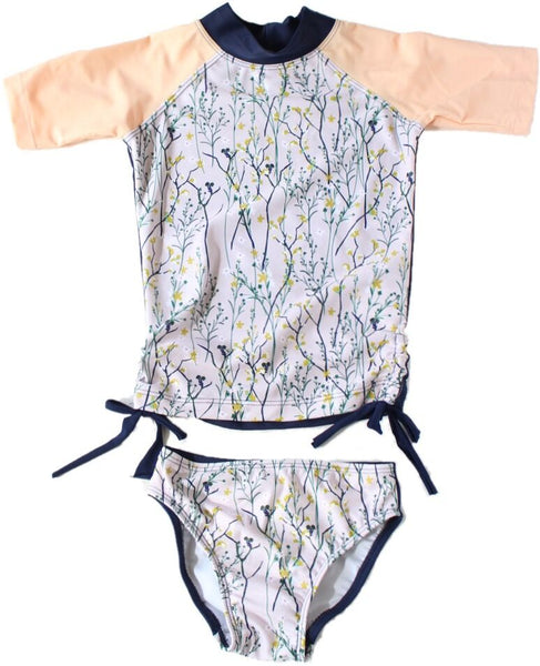 Young Squad Girls Wildflower Swim Set - FreeStyle Swimwear