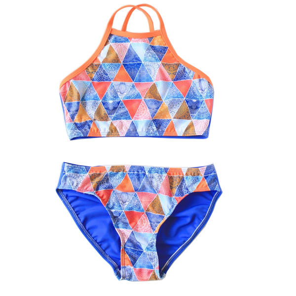 Young Squad Girls Boho Bikini - FreeStyle Swimwear