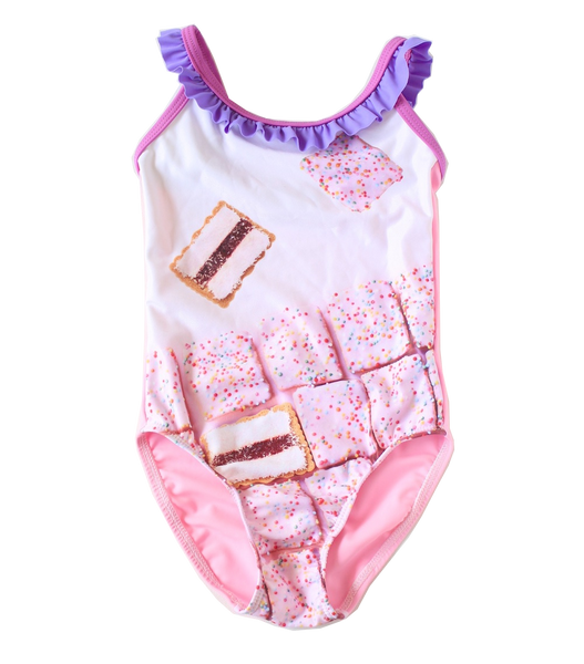 Young Squad Girls Iced Vovo One Piece - FreeStyle Swimwear