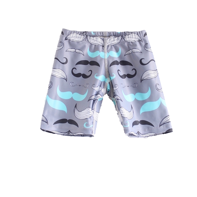 Young Squad Boys Moustache Jammers - FreeStyle Swimwear