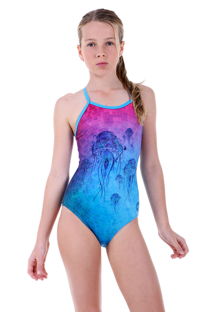 Nova Swimwear Girls Sting One Piece - FreeStyle Swimwear