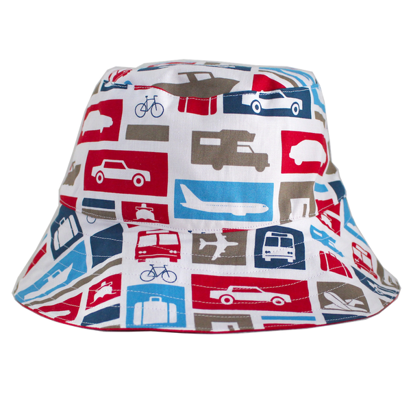Young Squad Transport Bucket Hat - FreeStyle Swimwear