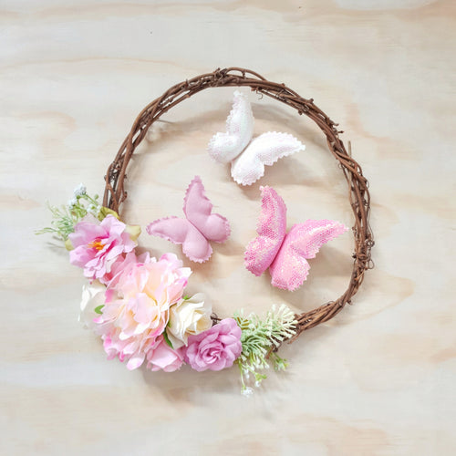 Dreamy floral wreath