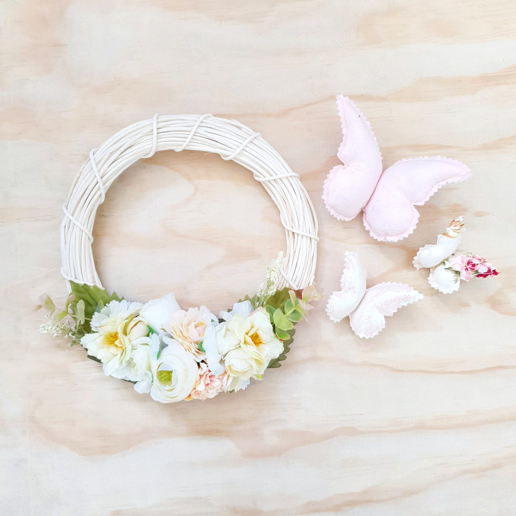 Delilah floral wreath.
