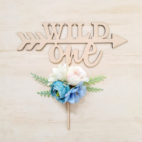 Cake topper. WILD ONE