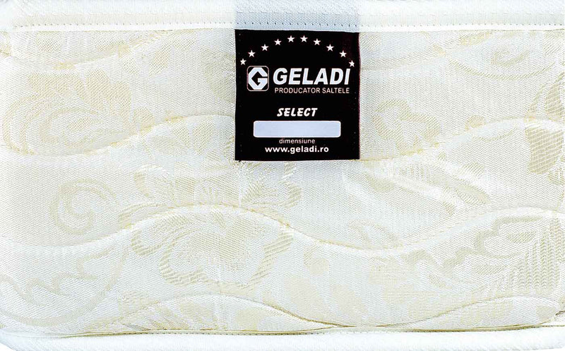 Saltea de pat Geladi Select Ortopedic Lateral