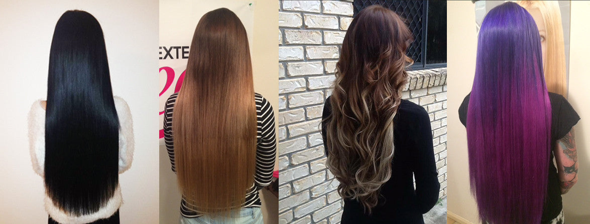 Russian Remy Human Hair Extensions Hair Extension Queen