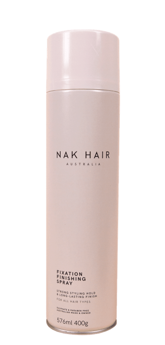 NAK Fixation Finishing Spray 500g BONUS SIZE