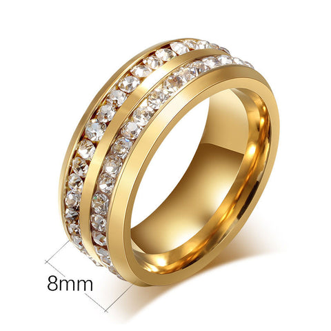 Infinity Rings for Women Wedding Engagement Rings Promise Rings Wedding Bands