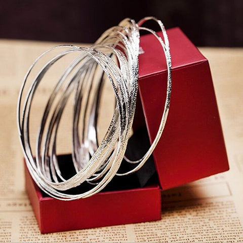 Bridal Jewelry 10 Pcs Set Bangles Bracelets for Women Friendship Bracelets