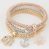 Charm Bracelets Friendship Bracelets Bracelets for Women Fashion Jewelry Bangles